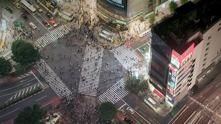 Japan von oben -  Reise nach Tokio (C) ARTE